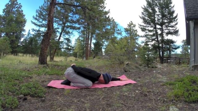 EASY Mountain Morning Yoga Class