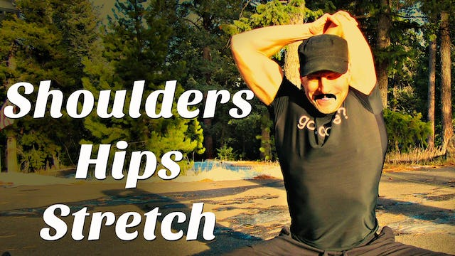 Day 5 - Stretches for Tight Shoulders & Hips - 7 Day Flexibility Challenge