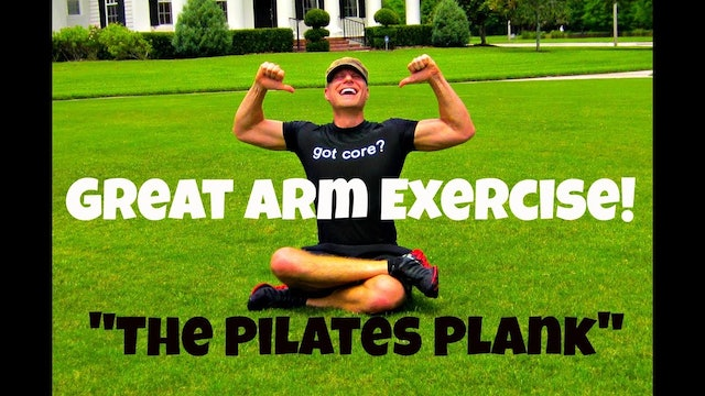 Great Arm Workout - Pilates Plank Exercise