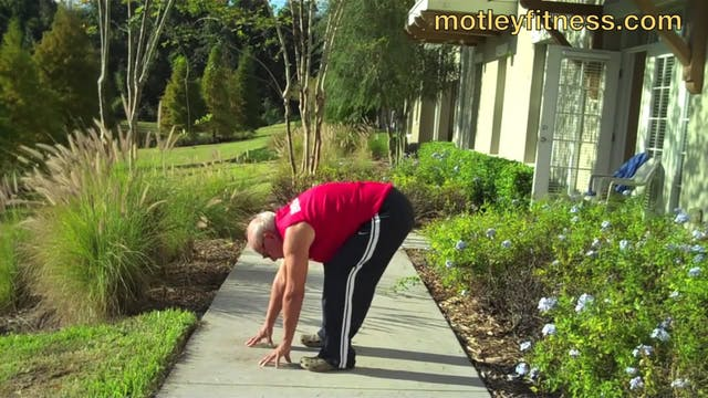 Old Fart Stretching Routine ft. my Da...
