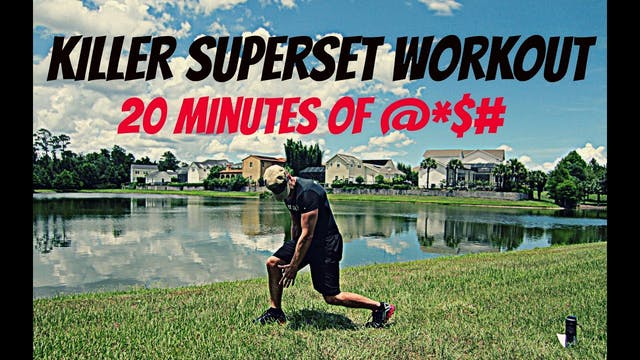 Superset Workout - 4 Workouts in ONE!