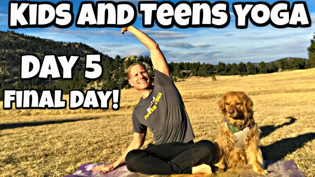 Friday - Stretch and Twist Class - Yoga for Kids/Teens