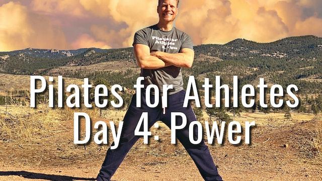 Day 4 - Pilates Power - PILATES FOR ATHLETES