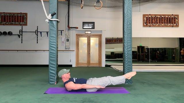Coordination Pilates Exercise