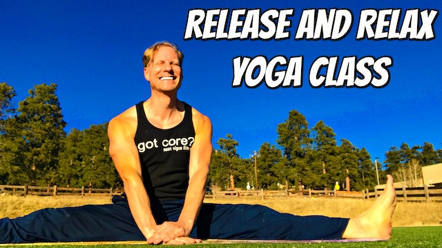 Release and Relax Beginner Yoga Flow