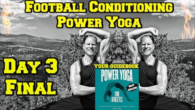 Day 3 - Power Yoga Strength - Yoga Challenge