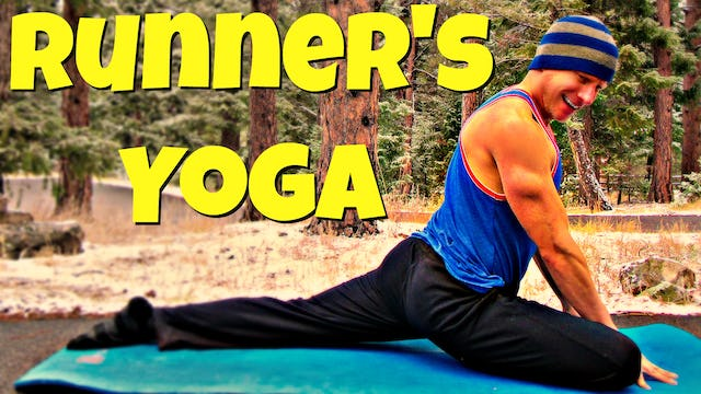 Full Yoga for Runners and Athletes Flow - 25 Min Post Workout Routine