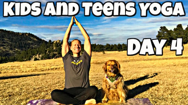 Thursday - Eagles and Wolves Class - Yoga for Kids/Teens