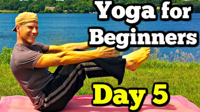 Day 5 Yoga Abs and Core - Sean's 7 Day Beginner Yoga Challenge