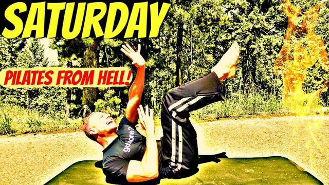 Saturday - Pilates Core and Abs Workout from HELL! - 7 Day Core Challenge