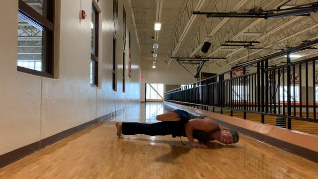 Flying Leg Push Ups - TOUGH EXERCISE