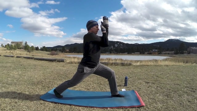 SVF 365 - Day 9 - Power Yoga Warrior Flow w/ Lunges and Deep Stretching