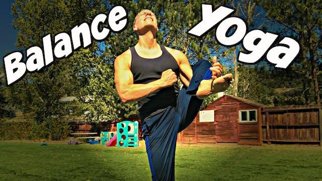 Power Yoga Non Stop - Master the Balance