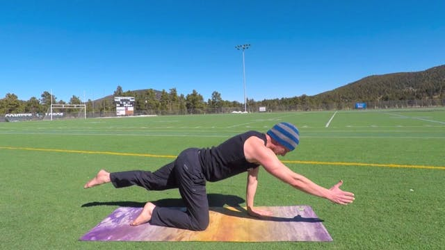 7/28 HUGE OBNOXIOUS 40 min Power Yoga...