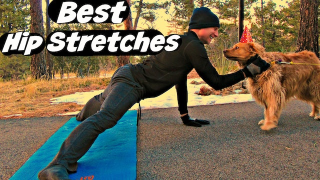 Elastic Hip Stretches for MASSIVE Flexibility and Performance