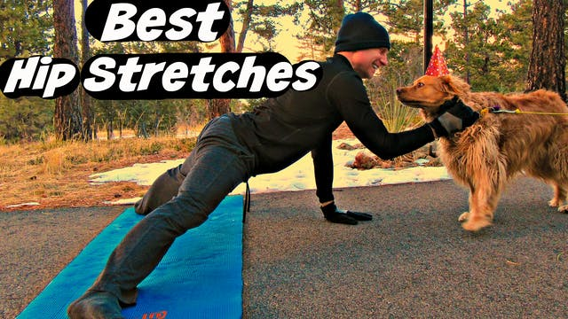 Elastic Hip Stretches for MASSIVE Fle...