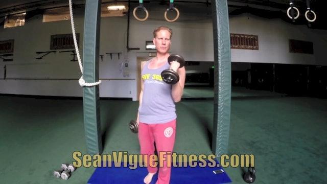 SVF 365 - Day 15 - WILD Muscle Shredder w/ Pull Ups, Push Ups, Dumbells & MORE