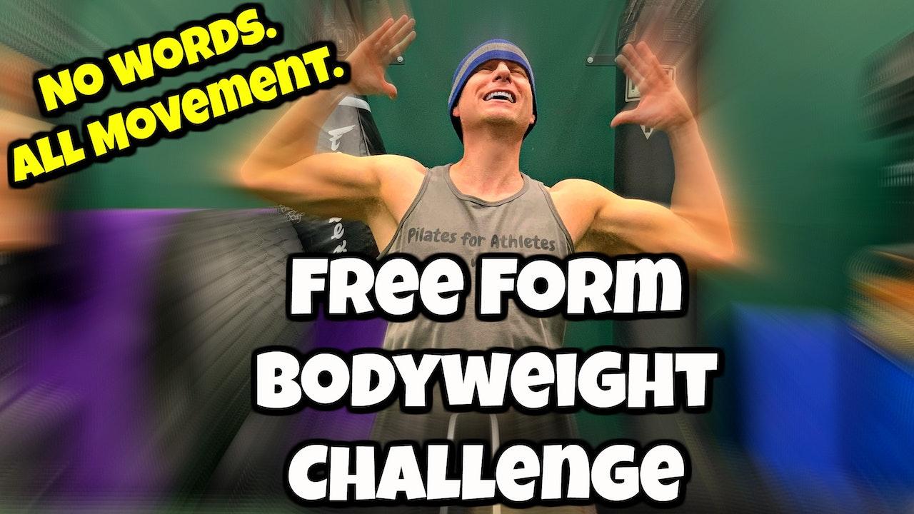 Sean's Free Form Bodyweight Flows