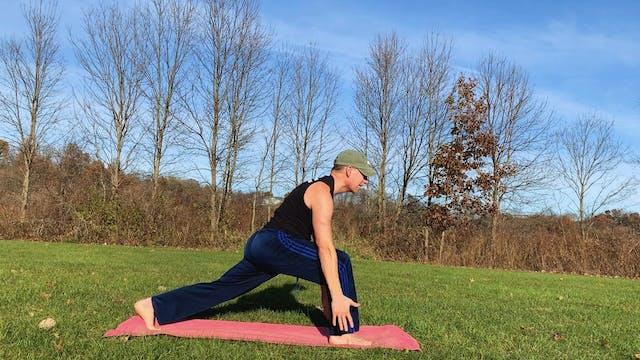 Quick TOUCHDOWN Power Yoga Training Flow