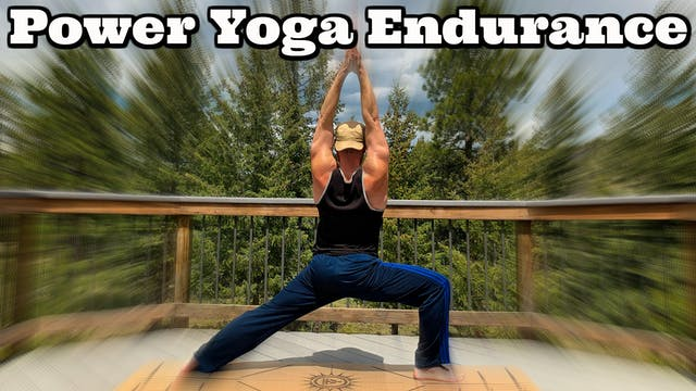7 Day POWER YOGA ENDURANCE CHALLENGE