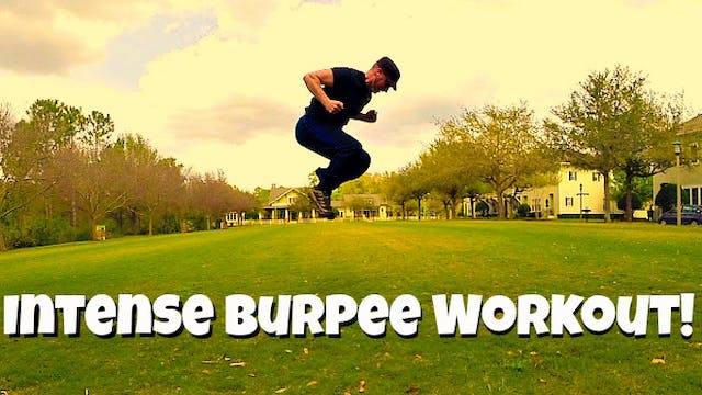 8 KILLER Burpee Exercises - Total Body HIIT Training