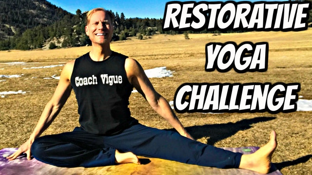 Day 2 - Hip Stretch Class - Restorative Yoga Challenge