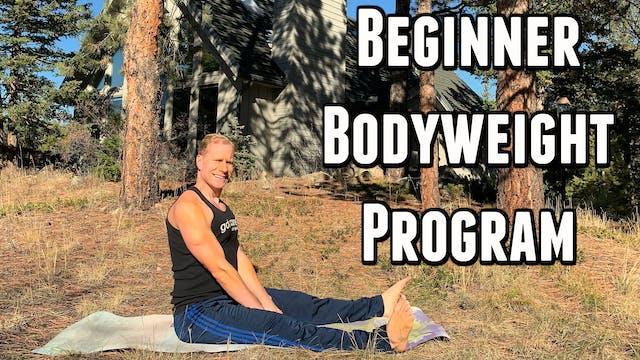 10 Day Beginner Bodyweight Fitness Program