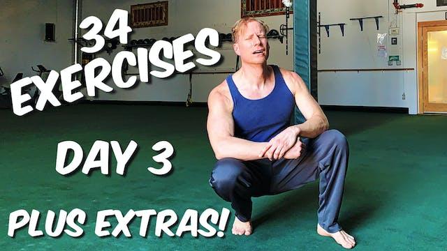 Day 3 - Joseph Pilates 34 Classic Mat...