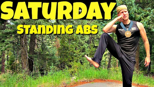 Saturday - Standing Abs Pilates Routi...