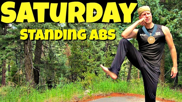 Saturday - Standing Abs Pilates Routine - 7 Day Pilates Challenge