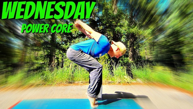 Wednesday - Life Changing Power Yoga Core Workout - 7 Day Core Challenge