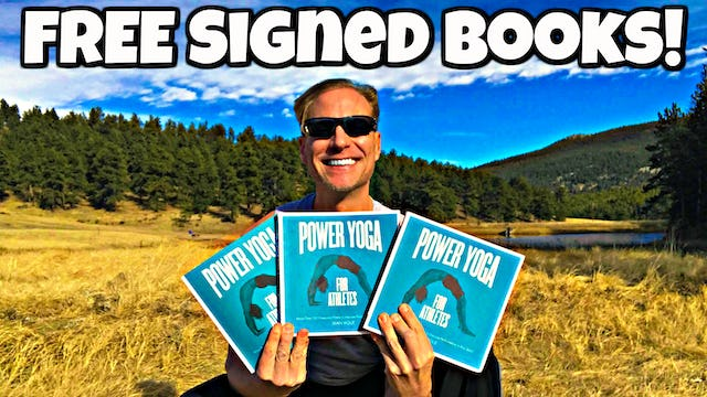 MORE Signed Yoga Books Giveaway!