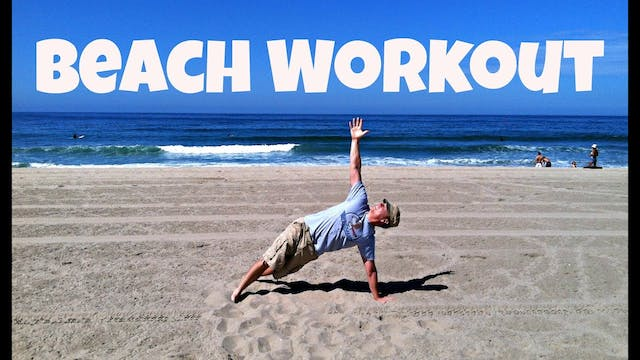 Sweaty Beach Workout - Manhattan Beac...