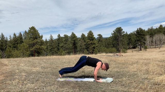 ADVANCED Kick Through Burpee Plank Workout