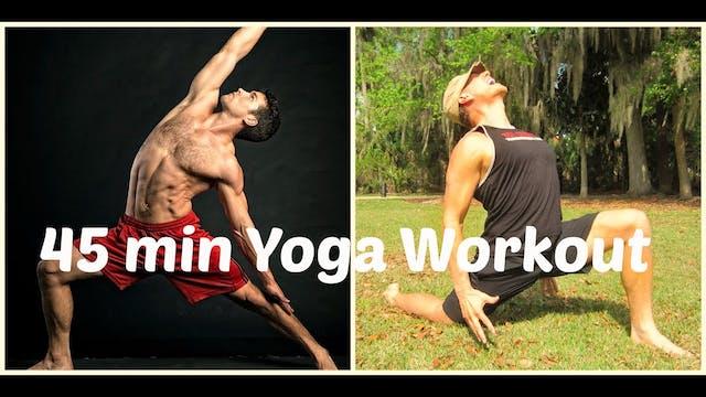 EPIC 45 min Power Yoga Flow w/ Dean P...