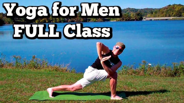 FULL Yoga for Men DVD Class - Lakeside Fitness