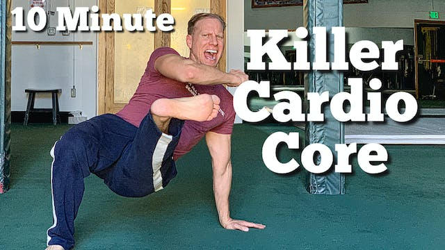 10 Minute Killer Cardio Core Workout