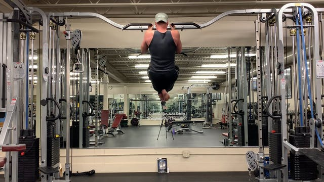 Close Grip Pull Up Burnout