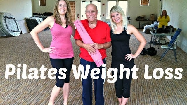 Weight Loss Pilates ft. My Dad and Wife