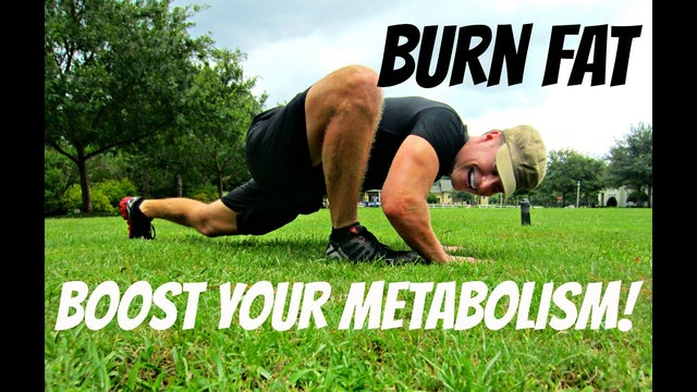 Boost Your Metabolism Bodyweight Cardio Home Workout
