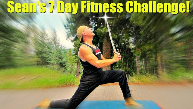 Sean Vigue's 7 Day Fitness Challenge