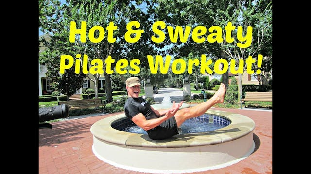 HOW and SWEATY Pilates Workout - 10 m...