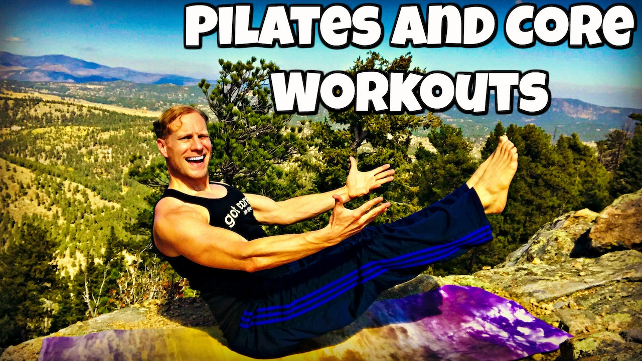 "Pilates and Core Videos: Every Full Length Pilates and Core (and core combo) Workout (125 in total!) in ""Sean's Vault"" plus Extras!"