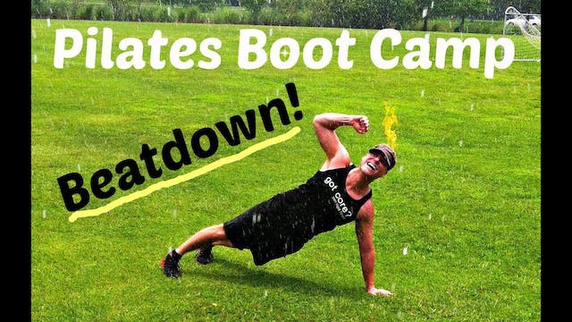 Pilates Bootcamp BEATDOWN Workout