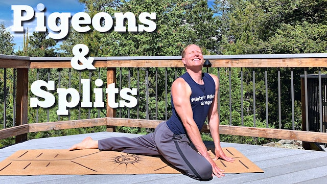 Vault: HIP & LOW BACK STRETCH - Pigeons and Splits Challenge
