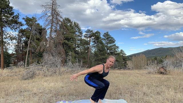 Flying High Power Yoga - NEW CAMERA!