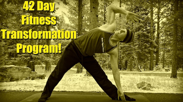 Sean's 42 Day Fitness Transformation Program