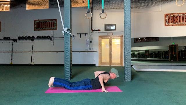 Vinyasa Side Swing Planks Core Flow