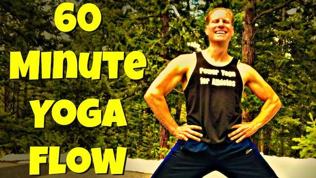 EPIC 60 Min Yoga Flow Class
