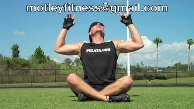 Sean's ORIGINAL Pilates for Men Workout Challenge - 1 of 2